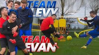 DES BUTS COMPLÈTEMENT DINGUES ?!? (Team @Evan Switch VS Team LEVY)