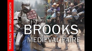 Brooks Medieval Faire | Knights of Valour Full Contact Jousting; Medieval Martial Arts (combat)