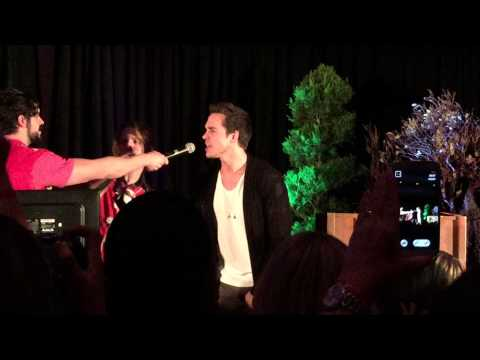 "Chris Wood, Chase Coleman & Micah Parker singing ""Everybody"" by Backstreet Boys at TVD Orlando"