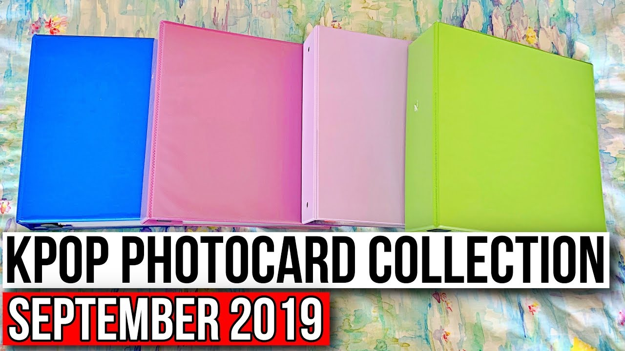 Kpop Photocard Binder