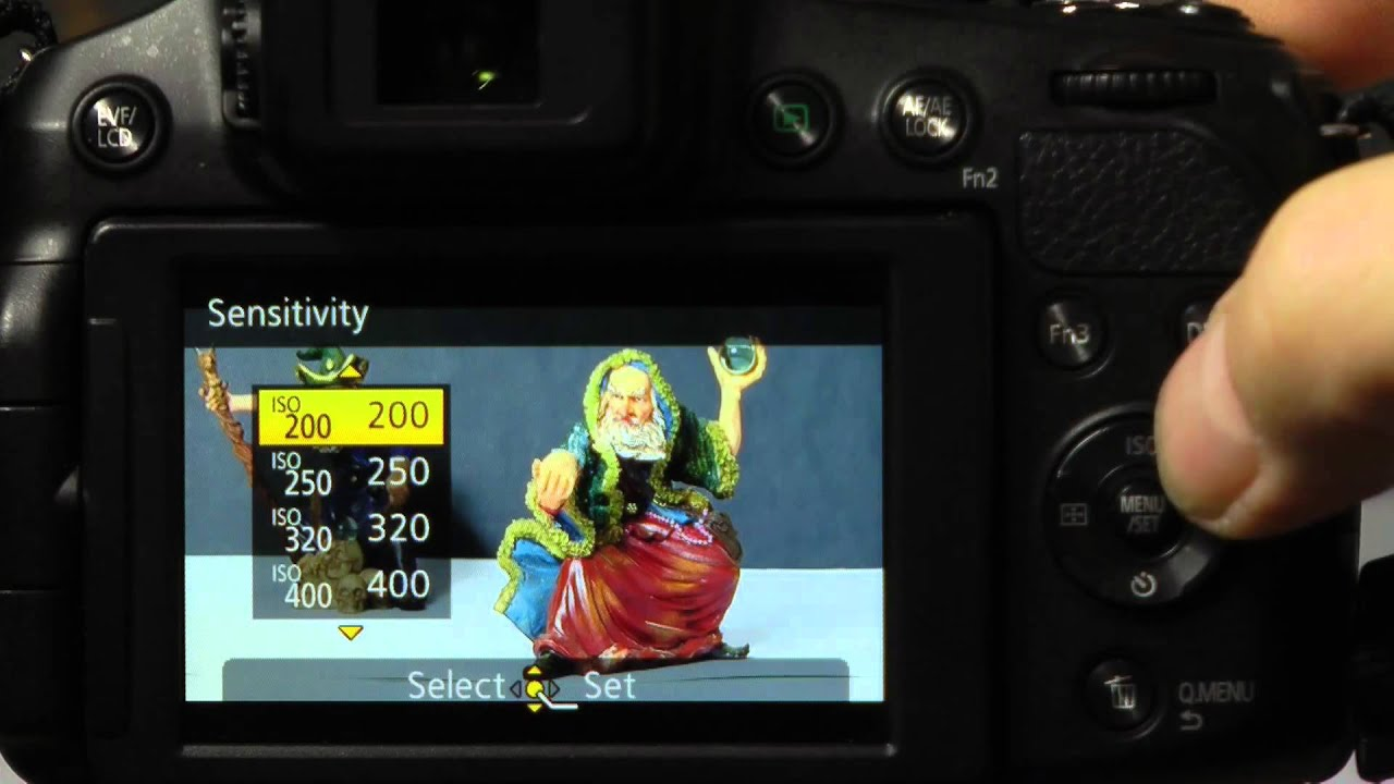 Panasonic Lumix FZ200 User Guide Illustrated Part 3(a) The Semi Automatic modes