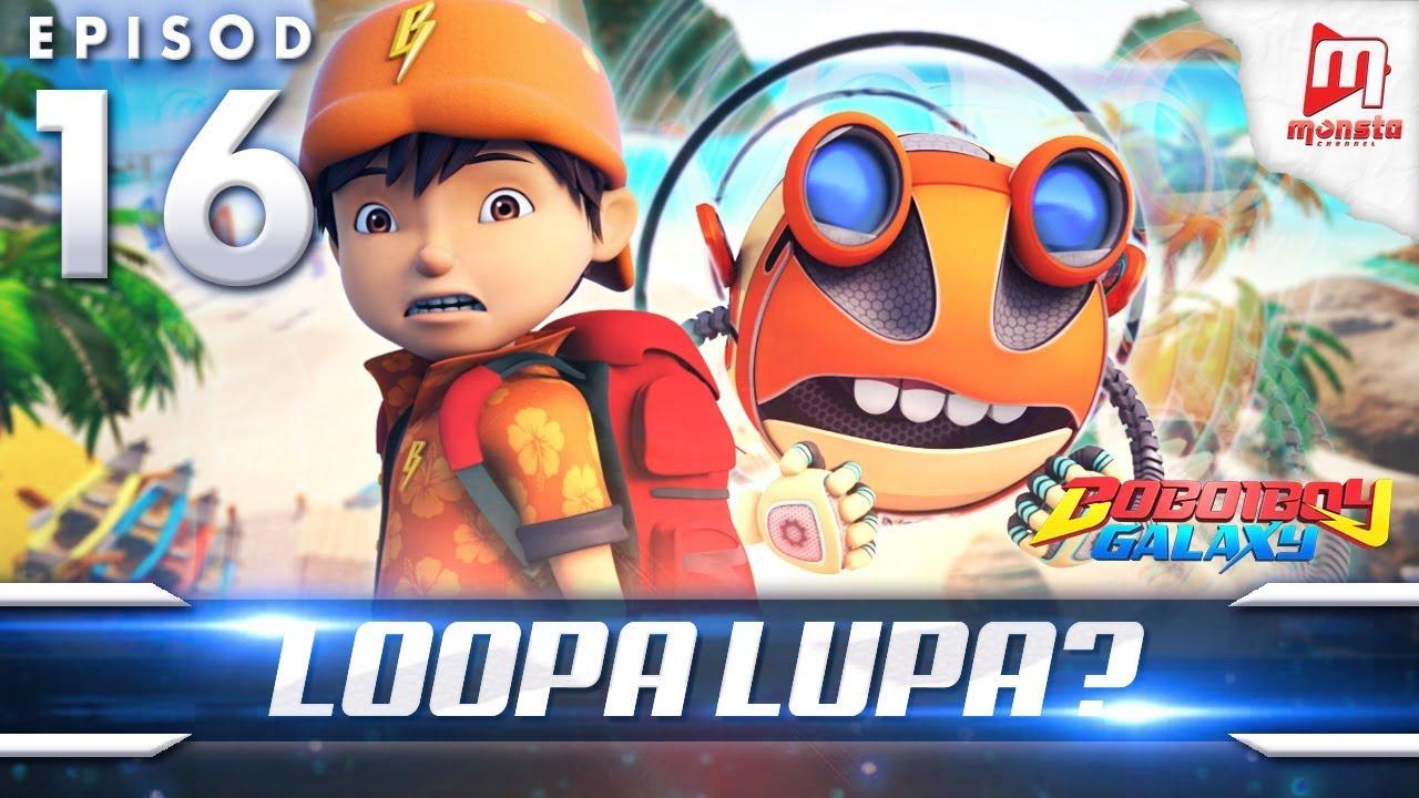 BoBoiBoy Galaxy EP16 | Loopa Lupa? / Looping Loopa (ENG Subtitles)