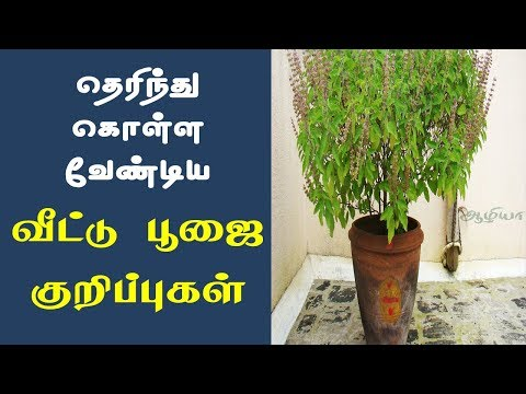 Poojai Tips In Tamil | வீட்டு பூஜை குறிப்புகள் | Home Pooja Tips