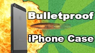 Bulletproof iPhone case vs 50 cal bullet! Tech Assassin - RatedRR Richard Ryan - 50 cal iPhone