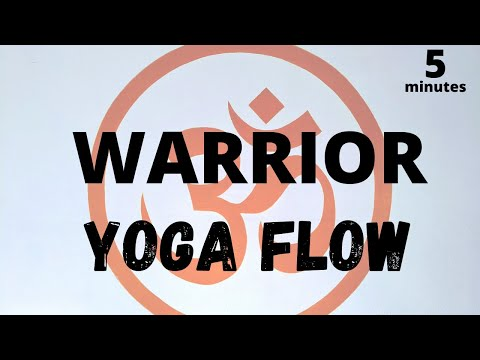 5 Minute: Yoga Sequence | Flowing Through Warriors