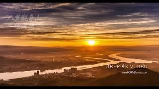 2017 12 10 八里觀音山 (Guanyin Mountain)-硬漢嶺日出 sunrise完整版( 4K影片 Timelapse)BY棟梁 #jeff0007