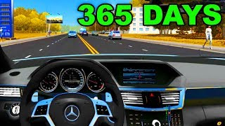 City Car Driving 1.5.8 - Mercedes-Benz, BWM, BUGATTI CHIRON | Normal Driving, Fast Driving