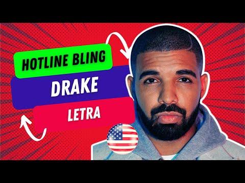 Aprenda Inglês Traduzindo Hotline Bling do Drake