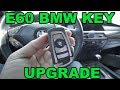 BMW e60 key upgrade to F series style flip key