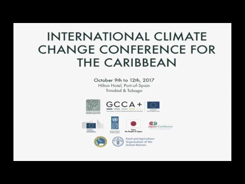 Caribbean Climate Change Conference 11/10/2017