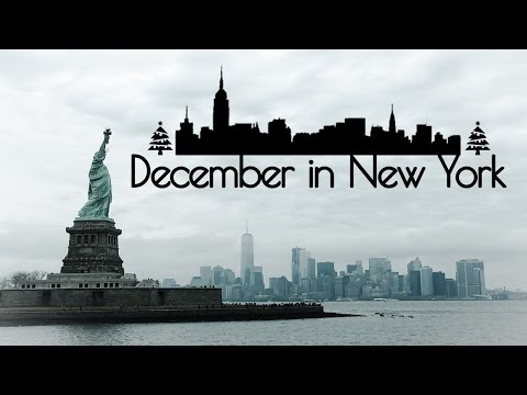 December Christmas Holidays Vacation in New York 2016