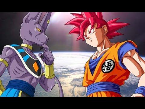 Goku Vs Bills Dragon Ball Super Youtube