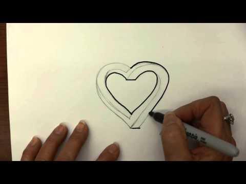How to make a Graffiti & Tattoo Themed Heart