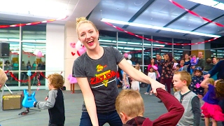 VALENTINES FAMILY DANCE PARTY!