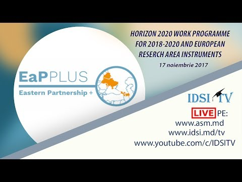 HORIZON 2020 Work Programme for 2018-2020 &European Research Area instruments