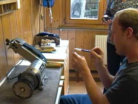 Carving Tools-Sharpening Part 1 with Mario Fuchs Presented by Pfeil & Woodcraft
