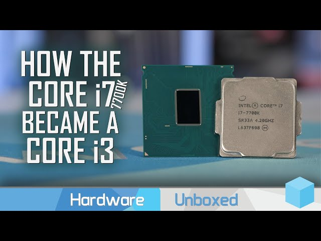 Intel Core i7-7700K, 2017's Worst CPU Purchase Revisited
