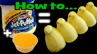 How To Make Perfect Easter Peeps Easily @ Home