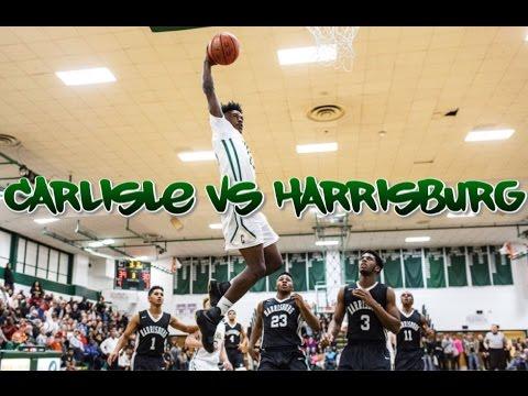 CARLISLE vs HARRISBURG (12/21/16) DESHAWN MILLINGTON, CHRIS WHITAKER