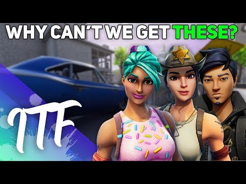 Why Can't We Get These Skins In Battle Royale!? (Fortnite Battle Royale)