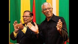 President David Granger and Vice President Moses