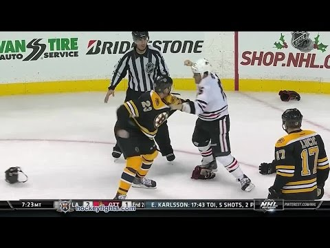 Andrew Shaw vs Chris Kelly Dec 11, 2014