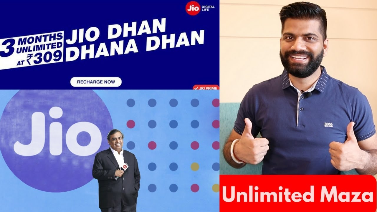 Jio Dhan Dhana Dhan Offer Launched - Unlimited Data for 84 ...