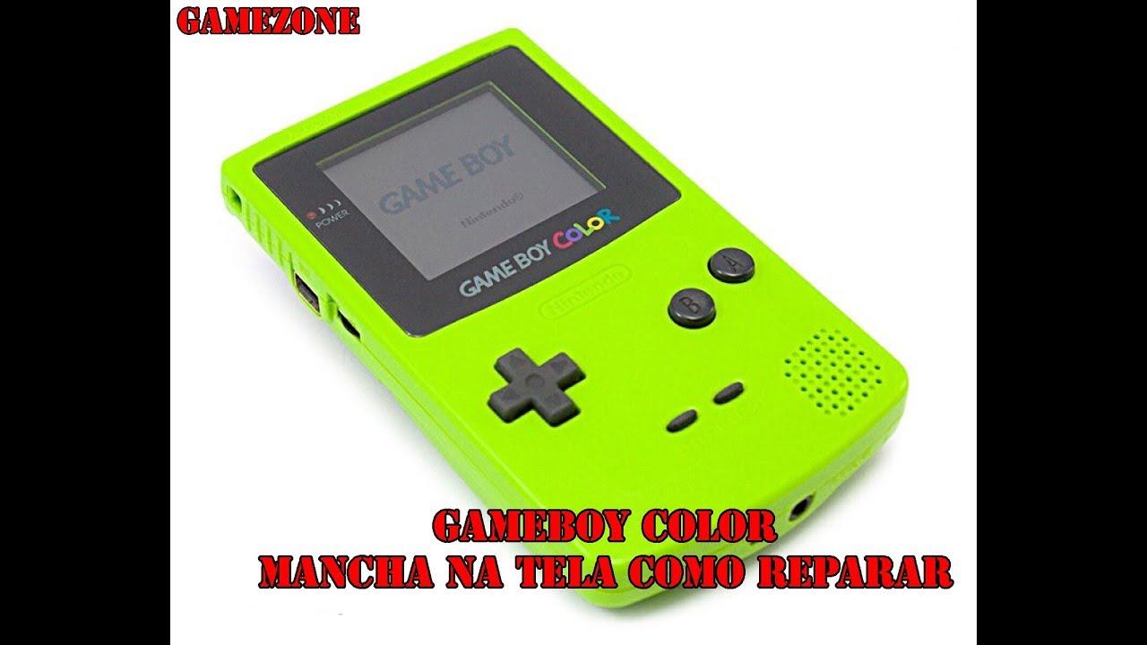 Game boy color quanto vale - Game Boy Color Tela Vazada Mancha Na Tela Resolvido Em Partes Video 1