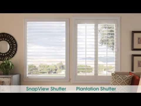 Low cost DIY Plantation Shutters designed for self-installation.
