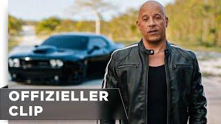"""Fast & Furious 9 - Exklusiver Clip """"Vin Diesel – Back To Cinema"""" deutsch/german HD"""