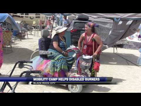 Burning Man: Mobility Camp Helps Disabled Burners