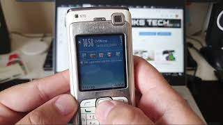 15 years old Nokia N70 in 2020 - First Boot & Impression!