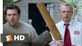 Record Toss - Shaun of the Dead (4/8) Movie CLIP (2004) HD