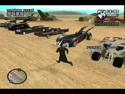GTA SA  BATMAN  Vehicle MODs