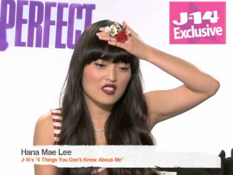 """J-14 Exclusive: Hana Mae Lee's """"4 Things You Don't Know About Me"""""""