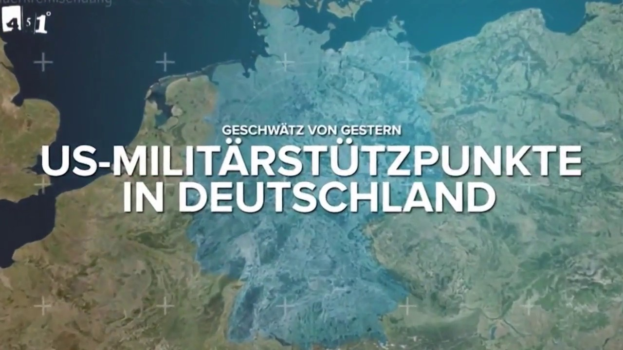 US Military Bases in Germany-US Militärstützpunkte in ...