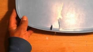 Cómo pegar plástico caseramente / How to paste plastic homemade