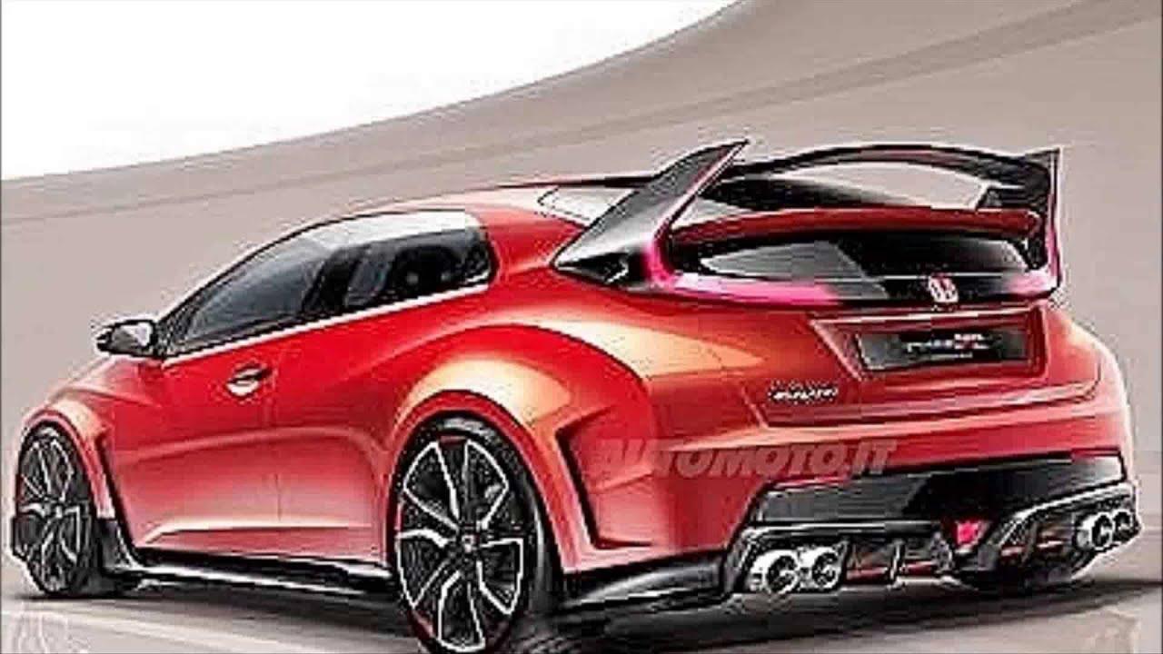 New 2015 model honda civic type r youtube for Honda civic 2015 model