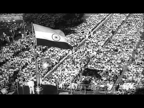 The funeral of Pandit Jawaharlal Nehru, first Prime Minister of India in New Delh...HD Stock Footage