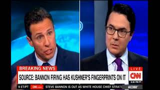 Chris Cuomo looks at the fallout following the Firing of Steve Bannon 4