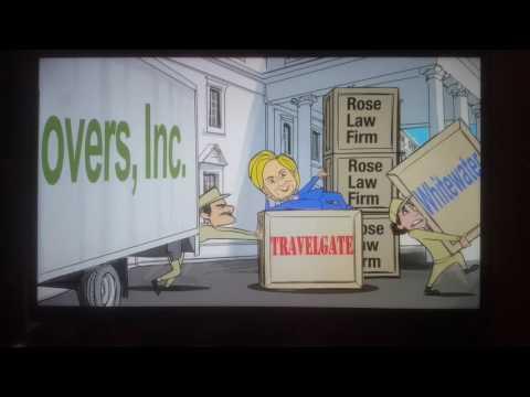 Anti Hillary Clinton cartoon ad