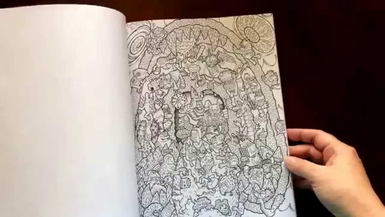 Doodle Fusion By Lei Melendres And Zifflin Coloring Books