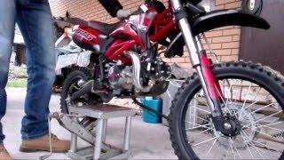 [Обзор] Подъемник для мотоцикла своими руками