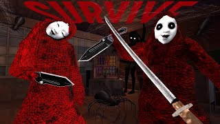 Aka Manto | PS1 style Japanese 赤マント urban legend survival horror (All Endings)