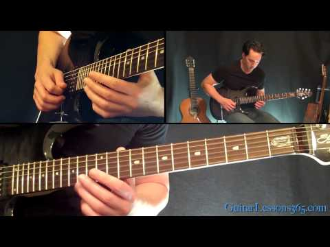 Hail To The King Intro Guitar Lesson  Avenged Sevenfold  Famous Riffs