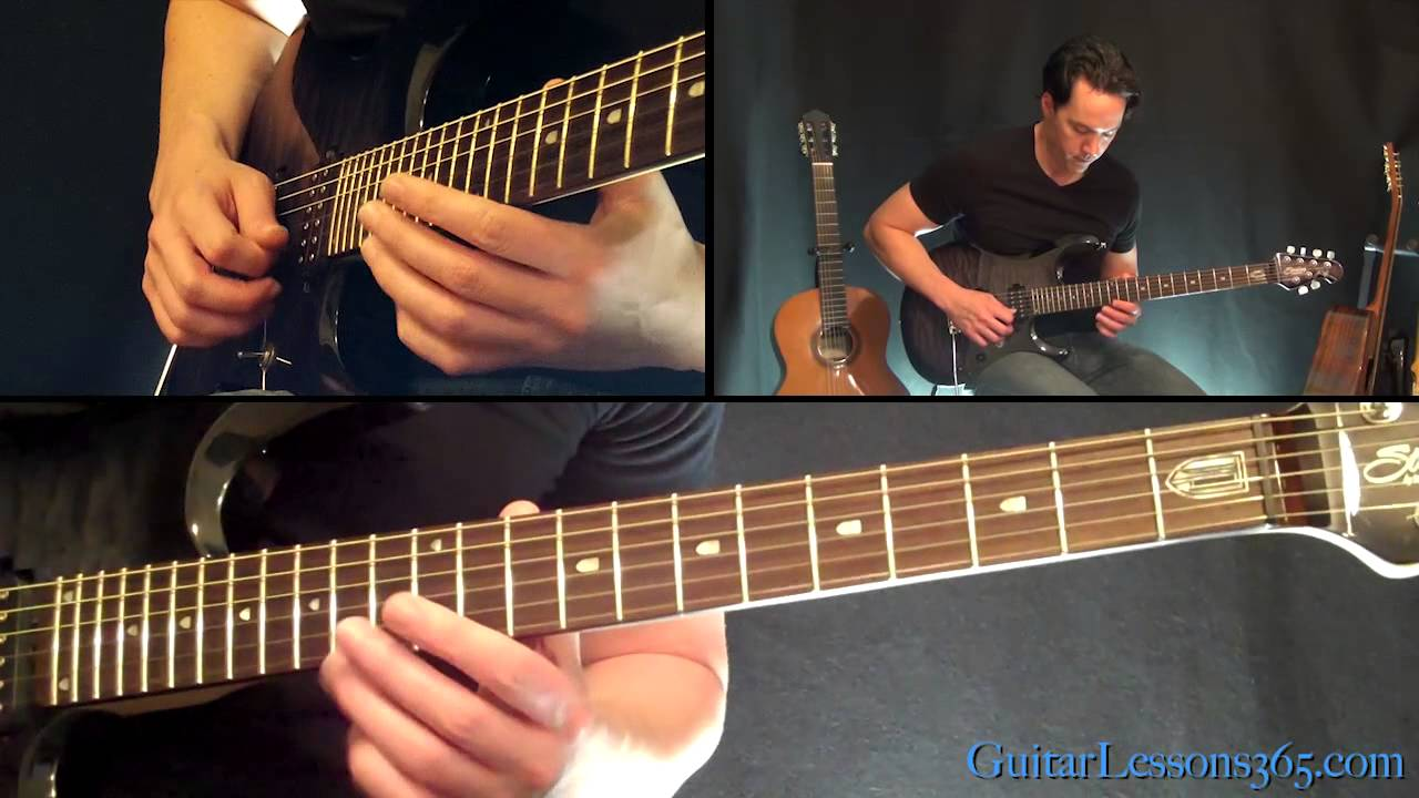 Hail To The King Intro Guitar Lesson Avenged Sevenfold Famous