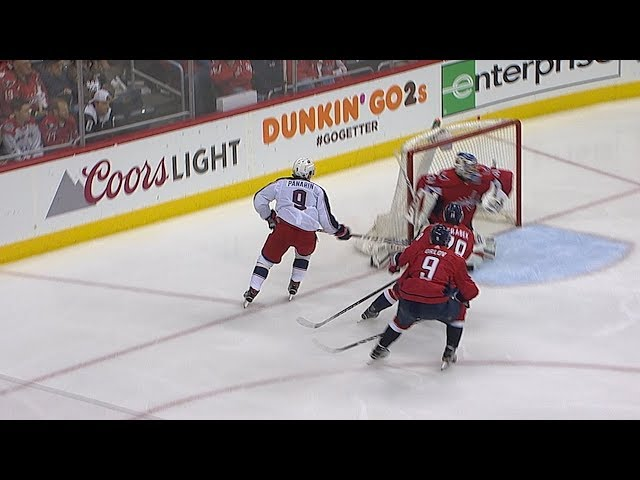 Artemi Panarin races in for OT winner to give Blue Jackets Game 1 win