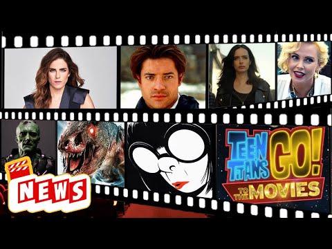 Terry Crews Wolverine? Película Xforce, Teen Titans Poster, JurassicWorld3,JessicaJones en México