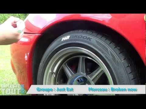 Lunaris2142 teste un stylo pour pneus