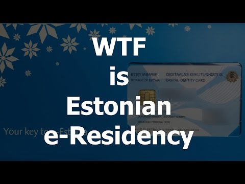 What can you do with Estonian e-Residency ID card?